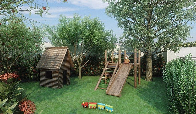 Up Home Vila Carrão - Playground