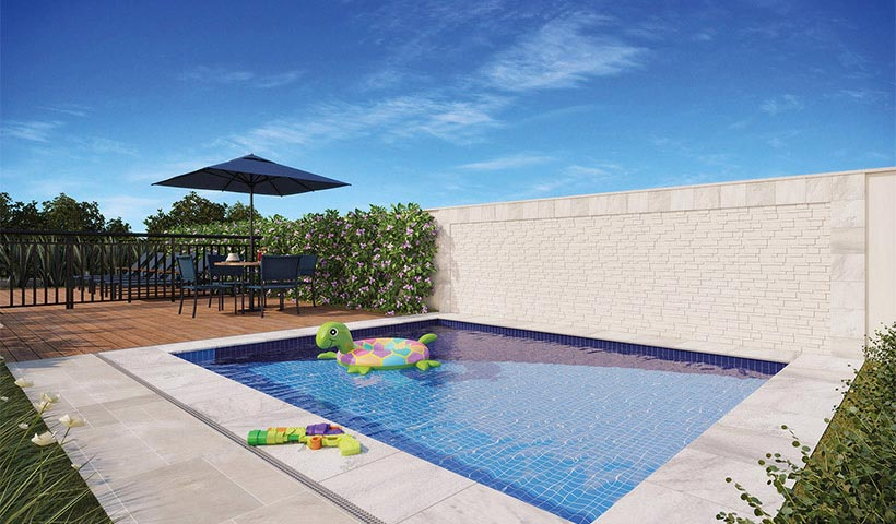 Up Home Vila Mascote – Piscina infantil