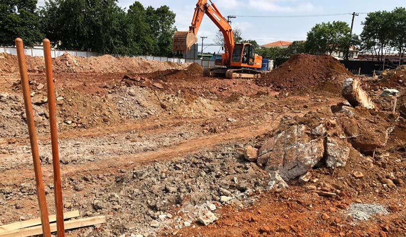 Escavação de Terra
