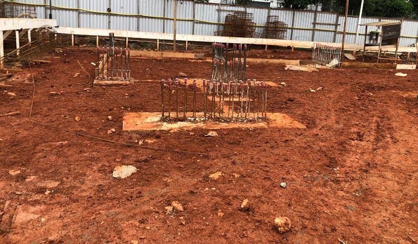 Torre 2 - reaterro de blocos de fundação