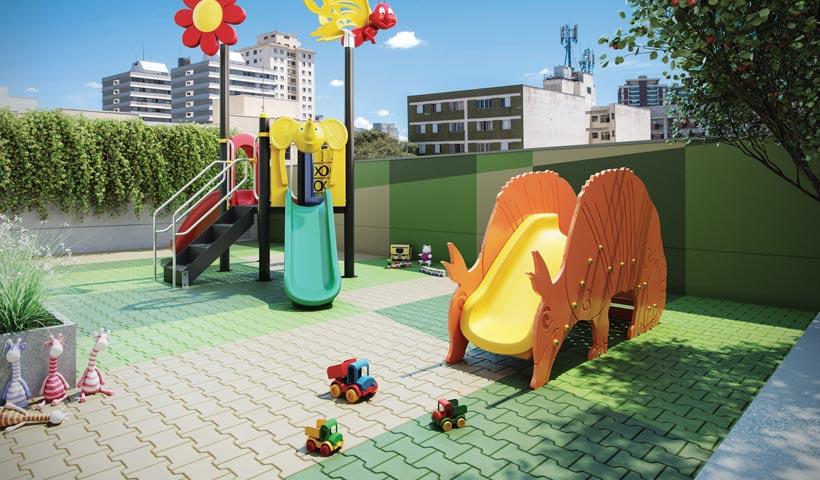 Vivid Perdizes – Perspectiva Ilustrada do Playground